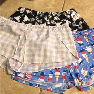 Pajama Shorts Bundle